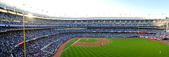 Yankee Stadium, during the first pitch of Game 5 of the 2017 American League Championship Series. (apardavila) Tags: alcs americanleaguechampionshipseries baseballyankeestadium mlb majorleaguebaseball newyorkyankees yankees yanks postseason sports