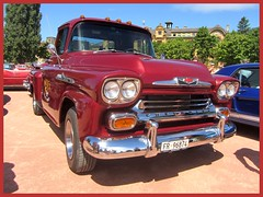Chevrolet Apache, 1959 (v8dub) Tags: chevrolet apache 1959 chevy pritsche pick up schweiz suisse switzerland neuchâtel american gm pkw voiture car wagen worldcars auto automobile automotive old oldtimer oldcar klassik classic collector