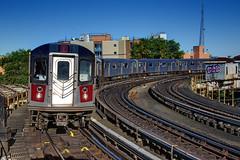 NYC Subway - IRT West Farns/White Plains Rd Line - East Tremont Ave/177th St/West Farms Square - #2 Train - R-142 6491 (David Pirmann) Tags: nyc newyorkcity subway irt interboroughrapidtransit train transit railroad r142 easttremontavenue 177thstreet thebronx bronx westfarmssquare