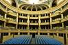 Spectacula, installation d'Aurélien Bory, salle du Grand-Théâtre, place de la Comédie, Bordeaux, Gironde, Aquitaine, France.