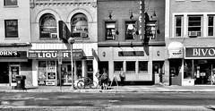 State St., Ann Arbor (Dennis Sparks) Tags: blackwhite michigan annarbor streetscape statest iphone