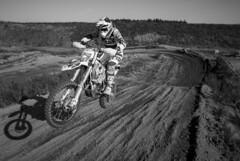 Jump! (Samuli Koukku) Tags: lavanko vmk vantaa finland motorsport motocross jump dirtbike husqvarna bw blackwhite canon 1dx2