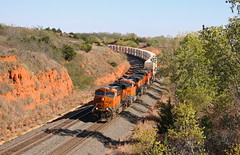 Quinlan, Oklahoma (UW1983) Tags: trains railroads bnsf intermodaltrains panhandlesubdivisioncurtis hill quinlan oklahoma