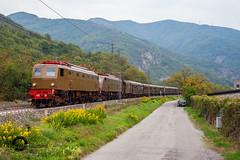 In doppia sulla lenta (Gabriele Gussoni) Tags: train storico e428