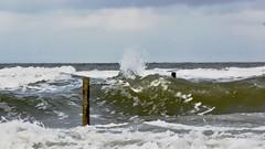 stormy weather today (sabine1955) Tags: wellen wasser waves borkum himmel nordsee north sea