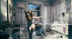 Shampoo Monday (clau.dagger) Tags: drd shadowbox monthly subscription furniture decor secondlife bathroom tram insol maitreya vespertine whatnext tentacio mutresse nantra