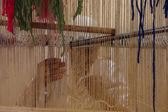 Carpet Making (Hector16) Tags: africa october morocco lavilladesorangers unescoworldheritagesite المَغرِب northafrica مراكش berber marrakech kingdomofmorocco marrakesh marrakeshtensiftelhaouz ma