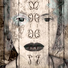 """""""I thought how unpleasant it is to be locked out; and I thought how it is worse, perhaps, to be locked in"""" (lorenka campos) Tags: trapped numbers expressionism conceptual modernart fineart popart mobileartistry artdigital art selfportrait portrait"""
