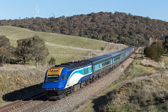 2017-10-02 NSW TrainLink XP2014-XP2016 Cullerin ST24 (deanoj305) Tags: cullerin newsouthwales australia au nsw trainlink main south line st24 xp2014 xp2016 passenger train xpt ranges