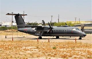 Dash-8.311/ RO-6A 15-00338 c/n 338 U.S.Army. Tucson IAP, Arizona. 4th of June 2016.
