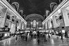 Grand Central Terminal (CCYMINUM) Tags: architecture balance bilateralsymmetry blackandwhite busy citylife contemporaryart crowd entrance ethereal extremediagonal fineart freedom geometry hall image indoors landmark monochrome newyork nyc oldfashioned peaceful people photo photography print quiet retrostyled rushhour serenity station subway symmetrical symmetry terminal train ny unitedstates