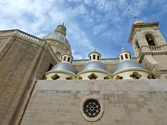 San Lawrenz Parish Church (Linda DV (away)) Tags: lindadevolder lumix geomapped geotagged travel europe malta 2017 mediterraneansea island gozo gozosightseeingtour ribbet
