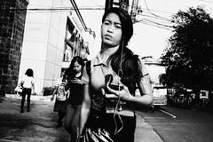 Looking Sad (Meljoe San Diego) Tags: meljoesandiego fuji fujifilm x100f streetphotography street streetlife candid monochrome philippines