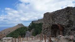 Fostul turn al cetatii Chora