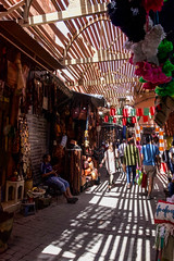 Shopping in the Souks of Marrakech (joscelyn_p) Tags: shopping souk souks medina marrakech morocco travel traveling traveler canon lightroom colors colorful city urban