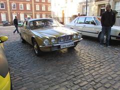 Jaguar XJ6 Series II 4.2 TPH449M (Andrew 2.8i) Tags: queen queens square bristol breakfast club show meet classic car cars classics avenue drivers vehicle saloon british executive luxury 2 ii series xj xj6 jag jaguar