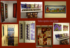 Patchwork (evisdotter) Tags: lappteknik patchwork hantverk handicraft galleriet viktor lsöderström utställning exhibition collage mariehamn