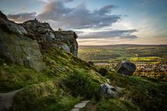 Sunset light over Yorkshire Dales (ola_er) Tags: yorkshire dales sunset nikon sigma light landscape uk england national park