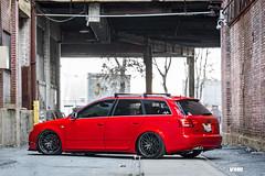 "V801 Anthracite Metallic 19""   Audi B7 S4 Avant (VMR Wheels) Tags: vmr wheels vmrwheels velocity motoring light weight wheel flow formed forged custom modified automotive bagged air suspension red audi a4 s4 avant wagon b5 b6 b7 b8 b9 v801 car anthracite metallic gunmetal"