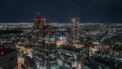 SHINJUKU (karinavera) Tags: city night photography cityscape urban ilcea7m2 aerial shinjuku tokyo