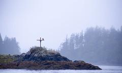 A Cross to Remember (Hannah_Nieman) Tags: cross island kyuquot bc rocky rock pacificnorthwest crow landscape scene travel supernaturalbc britishcolumbia coast
