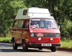 MWA 901W (Nivek.Old.Gold) Tags: 1981 volkswagen transporter camper t3 1584cc
