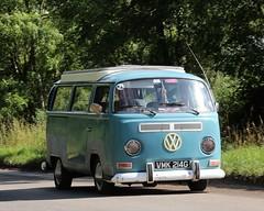 VMK 214G (Nivek.Old.Gold) Tags: 1968 volkswagen devon camper 1584cc earlybay