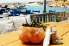 On the table (Katrinitsa) Tags: paros2017 paros greece greekislands island mediterranean aegean sea seaview seaside village villagelife villagescape architecture landscape nature colors blue sky door paradise magrippi magic magical travelphotography travel traditional pisolivadi cyclades canon canoneosrebelt3i canoneos600d ef35mmf14lusm bokeh focus zoom macro detail dream dreamer light summer sunlight sunshine shadows daylight joy happy happiness harbour sunrise reflections awesome amazing beauty beautiful art artistic nice perfect restaurant coffee breakfast