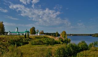 Alexander-Svirsky Monastery, Roshchinsky lake.