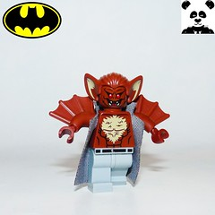 14 - Man-Bat (Random_Panda) Tags: lego figs fig figures figure minifigs minifig minifigures minifigure purist purists character characters film films movie movies television tv comics superhero superheroes hero heroes super comic book books show shows dc villains toy batman superman wonder woman aquaman green lantern the flash rogues cartoon villain joker manbat dr robert kirkland kirk langstrom