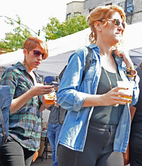 Suds and Walks (tacosnachosburritos) Tags: 2017 renegade craft fair summer chicago neighborhood westtown wickerpark east village sexy hot gorgeous beautiful man guy woman girl chick lady milf humanity people shopping booth tent vendor artist artisan hipster trendy fashion winy city urban gritty thestreets street photography