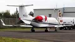 N202N LEARJET 60 NEWCASTLE (toowoomba surfer) Tags: bizjet businessjet executiveaviation jet aeroplane aviation aircraft ncl egnt