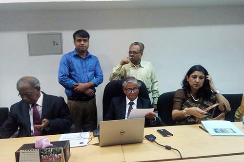 ঢাবি উপাচার্য অধ্যাপক ড. আখতারুজ্জামান আজ 'ঘ' ইউনিটের ফল ঘোষণা করেন