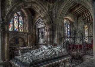 Deene Church Interior 10