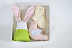 DSC_0171 (Jumata Made) Tags: clothing girls socks leg warmers pregnancy gift set new mum box newborn baby wool bunny rabbit toy shower girl christmas toys stocking stuffer handmade reveal