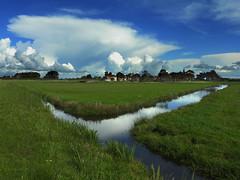 Noord-Hollands landschap (Ger Veuger) Tags: landschap landscape noordholland noordhollandslandschap dutchlandscape weer weather wolken clouds eilandspolder driehuizen