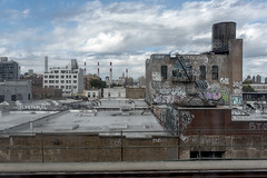 A View From the N Train (1 of 1) (J MERMEL) Tags: astoria cityscapesurbanviews genres geography nyc views elevated train