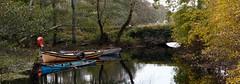 Eventime (Denis Moynihan) Tags: boat bridge evening light calm storm hurricane ross castle killarney national park kerry ireland landscape