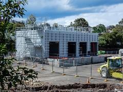 CBD & South East Light Rail - Lilyfield - Update 6 November 2017 (john cowper) Tags: cselr sydneylightrail lilyfield depot maintenance facility acconia transportfornsw substation electical drainage sydney newsouthwales