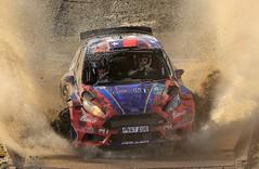 Clearscreen (Dafydd RJ Phillips) Tags: rally wrc world car championship r5 ford fiesta msport motorsport crash water windscreen heller pedro olmos pablo wales gb britain great 2017 sweet lamb mobil1