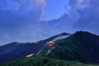 Nightfall at Mountain Hehuan 日暮合歡