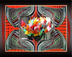 El Pañuelo. 37237090766_4c912d3d03_ot3 (seguicollar) Tags: imagencreativa photomanipulación art arte artecreativo artedigital virginiaseguí flower flor flores pañuelo punto texturas