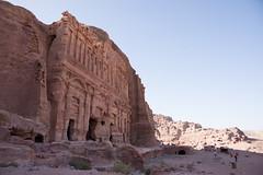 Petra, Jordan (GlobeTrotter 2000) Tags: addeir alkhazneh deir jordan monastery nabataeans petra treasure treasury unesco architecture clock heritage rock sunset tourism travel visit world