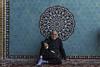 iranian (alamond) Tags: men islam people adult male sitting lifestyles mosque cultures pattern azeristyle architecture yazd iran blue tiles canon 7d markii mkii ef 1740 f4 l usm alamond brane zalar llens
