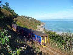 150265 & 150104 Carbis Bay (3) (Marky7890) Tags: gwr 150104 150265 class150 sprinter 2a22 carbisbay stivesbayline railway cornwall train