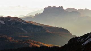 La vista dal Rifugio Auronzo - Veneto - Italia {Explored #25]