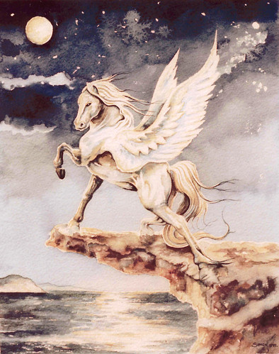 Pegasus -Watercolour