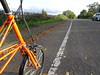 Autumn colours (stevenbrandist) Tags: orange road cycling cyclelane rothley leicestershire tsr moulton spaceframe autumn