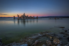 Mono Lake Evening Twilight (Jeffrey Sullivan) Tags: mono lake basin monocounty inyo national forest easternsierra sierranevada leevining california usa unitedstates landscape nature travel photography canon eos 6d photo copyright 2017 jeff sullivan september united states long exposure hdr photomatix