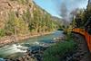 Animas River rapids R1004069 Durango & Silverton RR (Recliner) Tags: baldwin dsng drg